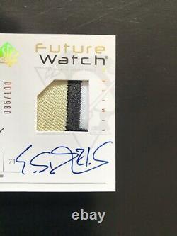 06-07 SP Authentic Future Watch Evgeni Malkin Auto Patch 095/100 3 Color Patch