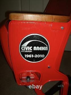 1967 Original Civic Arena Mellon Arena Stadium Seat Pittsburgh Penguins NHL DEAL