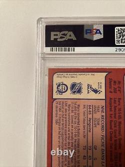 1985-86 O-pee-chee Opc #9 Mario Lemieux Rookie Card Psa 8 Mn-mint
