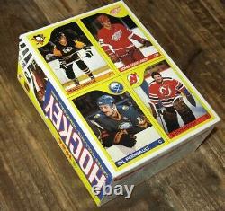 1985-86 O-pee-chee Opc Hockey Box Tape Sealed Case Fresh Lemieux Rookie Bottom