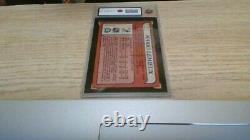 1985 OPC Hockey #I Mario Lemieux Box Bottoms Hand Cut Rookie Card 5 Ex(KSA)