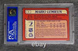1985 OPC Mario Lemieux Rookie PSA 8! O-Pee-Chee RC Pittsburgh Penguins sweet