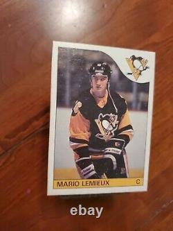 1985 O-Pee-Chee Hockey Mario Lemieux ROOKIE RC #9 HOT CARD SET BREAK