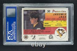 1990-91 O-Pee-Chee Premier #50 Jaromir Jagr Rookie PSA 10 Gem Mint
