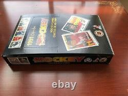 1990-91 O-Pee-Chee Premier OPC Hockey Wax Box 36 Packs Jagr Federov Rookie RC