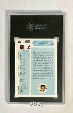 1990 Upper Deck FRENCH Jaromir Jagr RC SGC 10, card #356 HOF