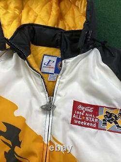 1996 NHL Hockey All Star Game Boston XL Splash Logo Athletic NWT Rare Jacket