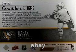 19/20 UD Complete Sticks Sidney Crosby