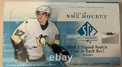 2005-06 SP authentic sealed hobby Box Alex Ovechkin & Sidney Crosby Future Watch