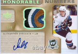 2005-06 Ud The Cup Alexander Ovechkin Crosby Rc Dual Noble Numbers /10 Rare