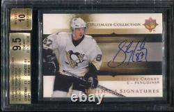 2005-06 Ud Ultimate Collection Ultimate Signatures Sidney Crosby Bgs 9.5 10 Auto