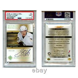 2005-06 Ultimate Collection #91 Sidney Crosby /299 PSA 9 073/299
