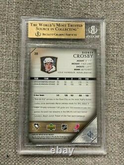 2005-06 Upper Deck #201 Sidney Crosby Rookie BGS 9.5 GEM MINT