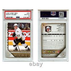 2005-06 Upper Deck #201 Sidney Crosby Young Guns PSA 10