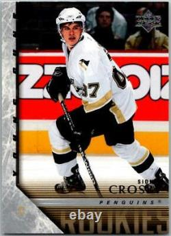 2005-06 Upper Deck #201 Sidney Crosby Young Guns RC Rookie Penguins