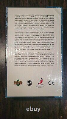 2005-06 Upper Deck Hockey Series 1 Factory Sealed Hobby Box Crosby Rookie YG