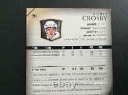2005-06 Upper Deck Hockey Young Guns #201 Sidney Crosby Rookie Rc Ref612