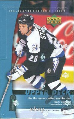 2005-06 Upper Deck Series 1 Hockey Hobby Box