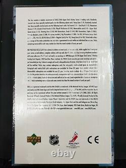 2005-06 Upper Deck Series 1 Hockey Hobby Box. Potential Crosby Young Gun RC