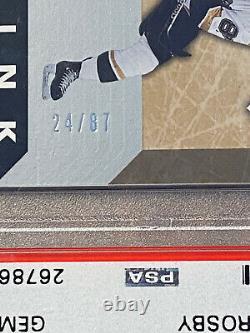 2005 Sidney Crosby U. D. Rookie Ink Autograph Rookie Card! /87 Low Pop