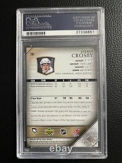 2005 Upper Deck Young Guns Sidney Crosby ROOKIE RC #201 PSA 10 GEM MINT