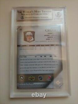 2005 Upper Deck Young Guns Sidney Crosby Rookie RC Gem Mint BGS 9.5 TRUE GEM
