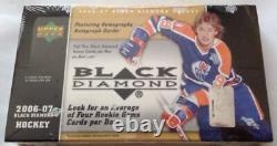 2006-07 UD Black Diamond Hockey HOBBY Box (Crosby Ovechkin Gretzky Auto Quad)