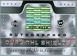 2006-07 U. D. The Cup Evgeni Malkin Rookie Alexander Ovechkin Auto Shield 1/1