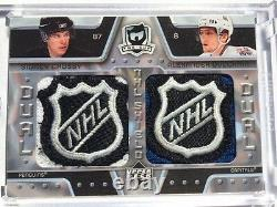 2006-07 Ud The Cup Dual NHL Shields Logo Sidney Crosby Alexander Ovechkin 1/1