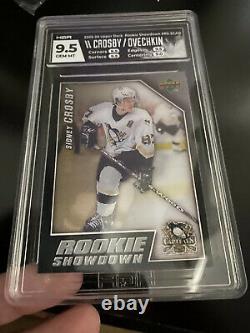 2006 Rookie Showdown Sidney Crosby & Ovechkin Rookies! HGA 9.5! Hologram