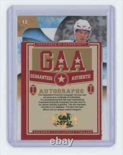 2009-10 Sidney Crosby Upper Deck Ice #12 Auto