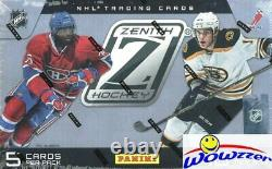 2010/11 Panini Zenith Hockey Factory Sealed HOBBY Box-3 AUTOGRAPH/MEM
