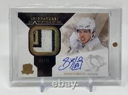 2010/11 The Cup Signature Patches Sidney Crosby Patch Auto 6 color spread 37/75