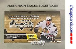 2010-11 Upper Deck Black Diamond Hockey HOBBY Box Ice Premieres Rookie Quad