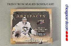2013-14 Upper Deck Artifacts Hockey HOBBY Box 3Hit (Rookie Auto Crosby Gretzky)