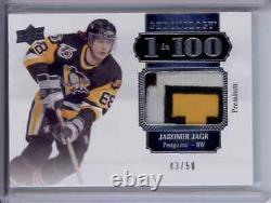2018-19 Chronology Jaromir Jagr 1 in 100 Patch /50