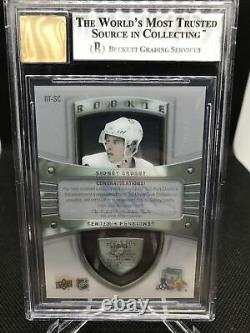 2019-20 Clear Cut Sidney Crosby The Cup Tribute Pop 1 Auto RC Rookie Beckett 9