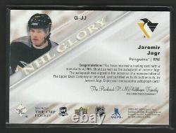 2019-20 The Cup NHL Glory Jaromir Jagr 04/10 Auto