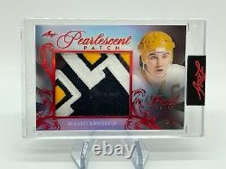 2020-21 Leaf Pearl Hockey MARIO LEMIEUX Pearlescent Patch Red Parallel 1/3