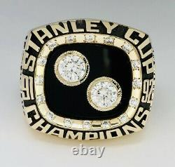 92 Pittsburgh PenguinsNHL Stanley Cup Champions 10K Gold Championship Ring