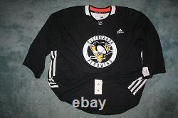Adidas NHL Authentic Pittsburgh Penguins practice hockey jersey goalie licensed