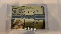 Artifacts Aurum Dual Signatures Penguins Evgeni Malkin Jake Guentzel UD Auto 2/3