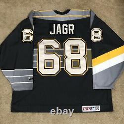 CCM Jaromir Jagr Pittsburgh Penguins Robo Pen NHL Hockey Jersey Black XXL