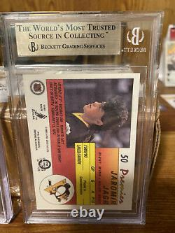 Jaromir Jagr 90-91 OPC Premier RC Rookie Card BGS 9.5 Gem Mint