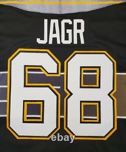 Jaromir Jagr Vintage CCM Pittsburgh Penguins Jersey Robo Pens