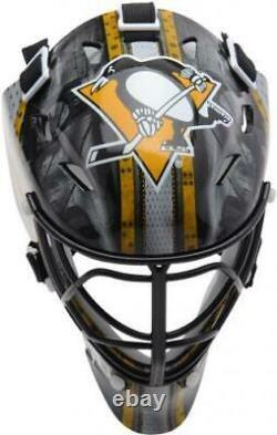 Marc-Andre Fleury Pittsburgh Penguins Autographed Mini Goalie Mask