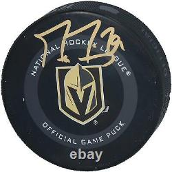 Marc-Andre Fleury Vegas Golden Knights Autographed 2019 Model Official Game Puck