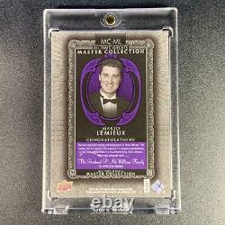 Mario Lemieux 2015 Upper Deck Mc-ml Master Collection Autograph Auto /20 NHL Hof