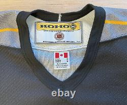 Mens Koho Pittsburgh Penguins NHL Hockey Jersey Size Adult Medium Robo Penguin