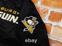 Neupittsburgh Penguins Starter Vintage Bomber USA NHL Jackeretrogr Mneu